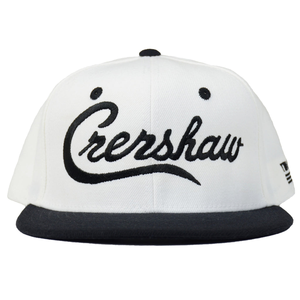 Crenshaw Snapback - White/Black [Two-Tone]