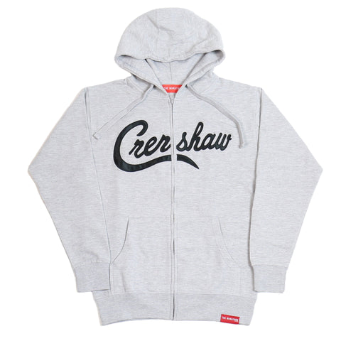 Crenshaw Zip-Up - Heather/Black