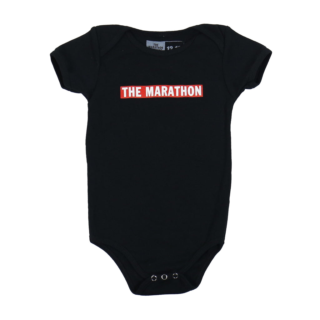 Marathon Bar Onesie - Black