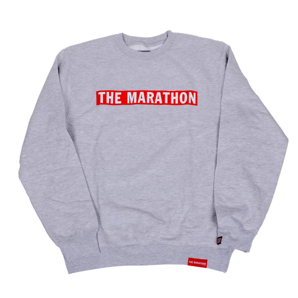 The Marathon Bar Sweatshirt - Ath Heather