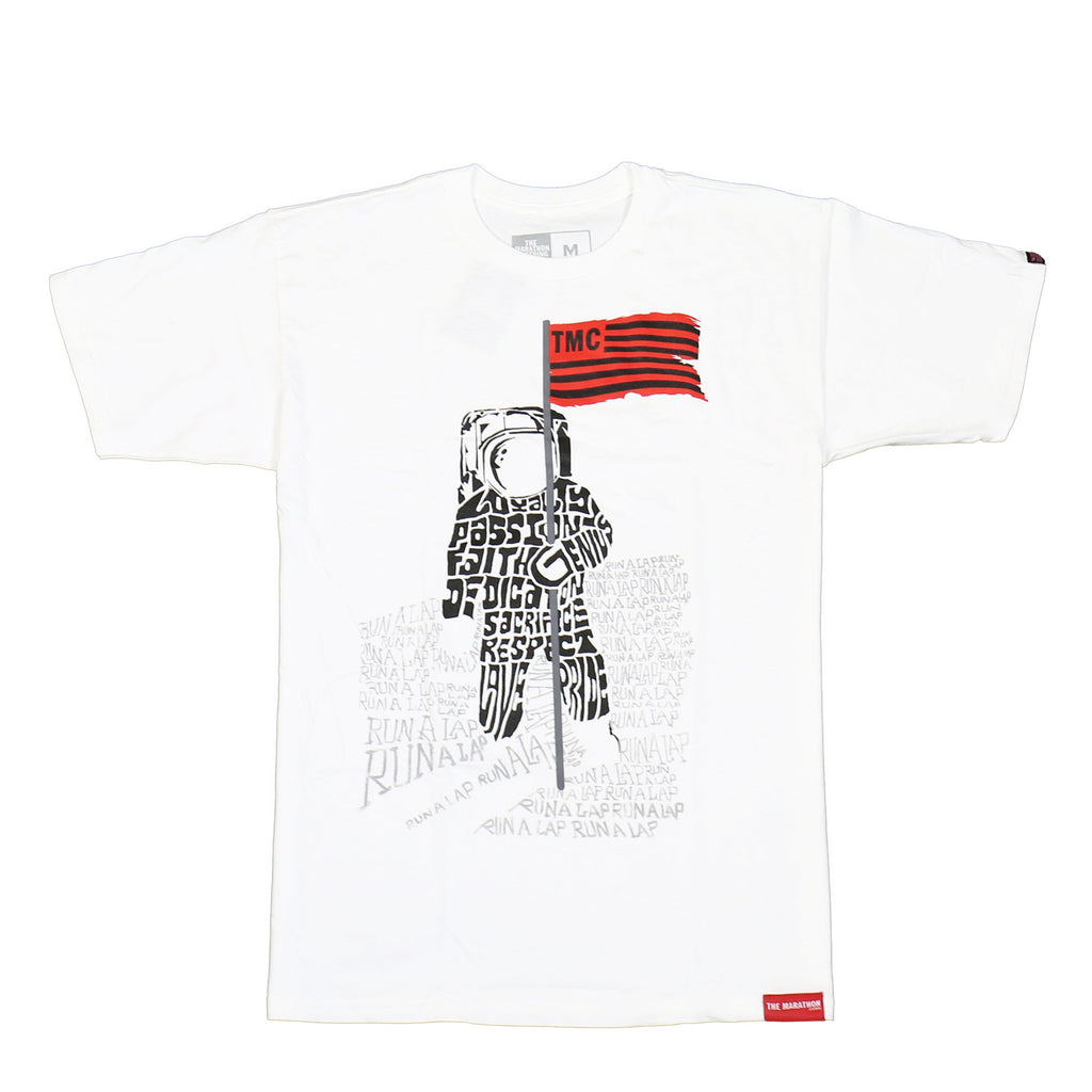 TMC Moon Man T-Shirt - White