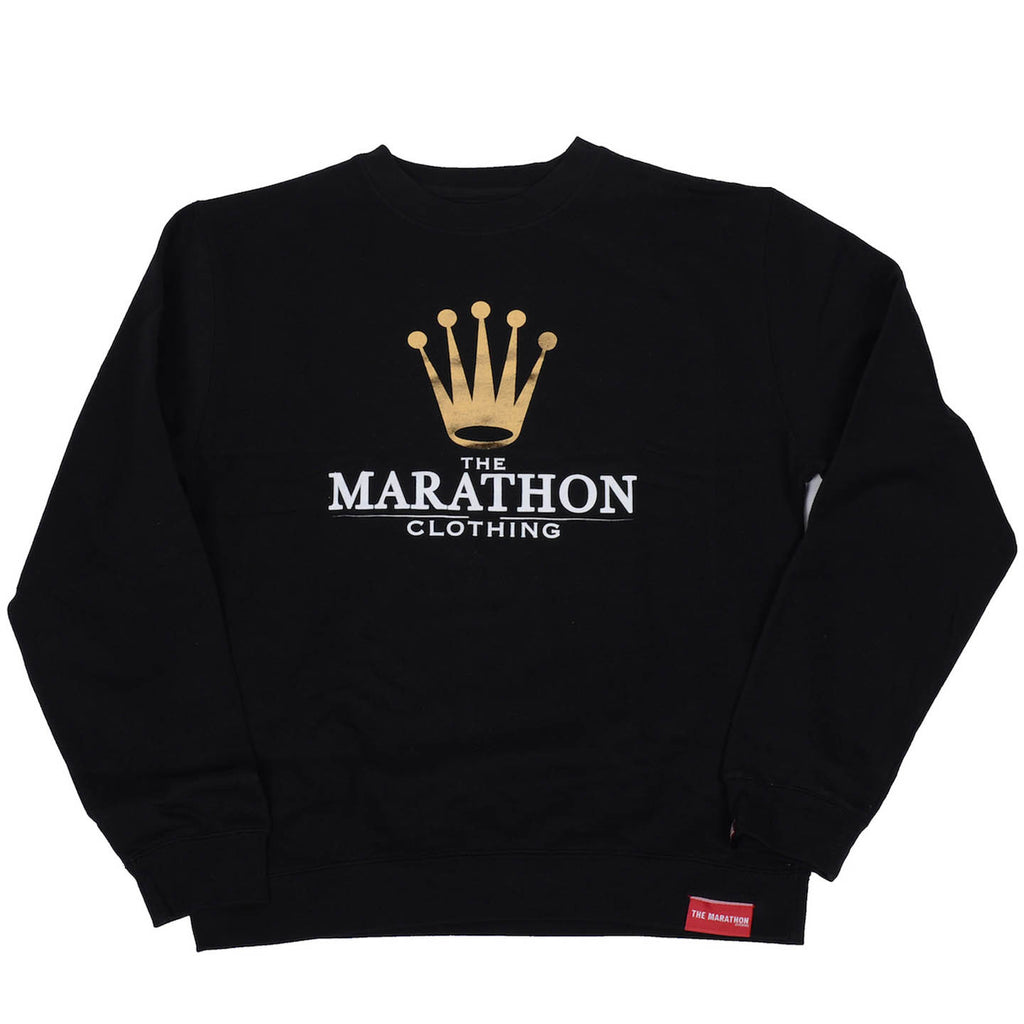 Marathon Royalty Sweatshirt - Black