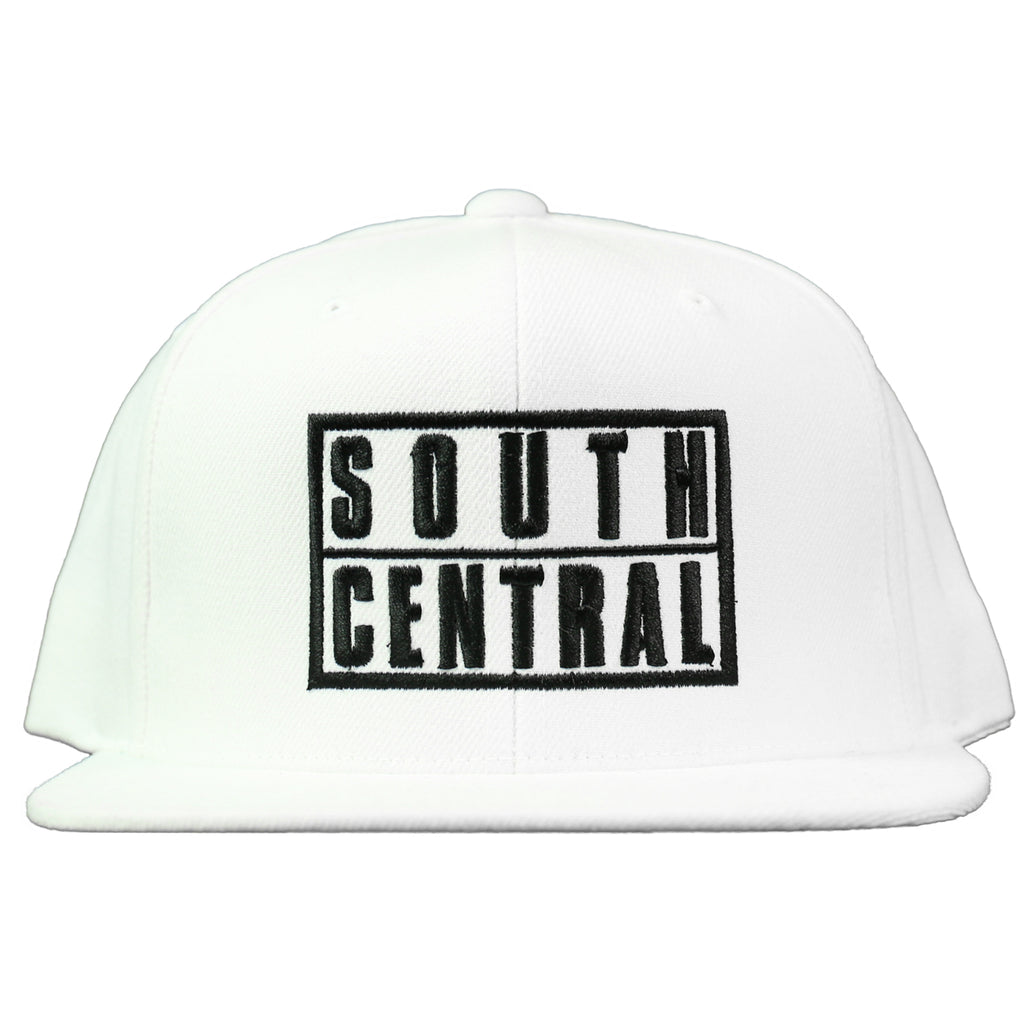 South Central Snapback - White