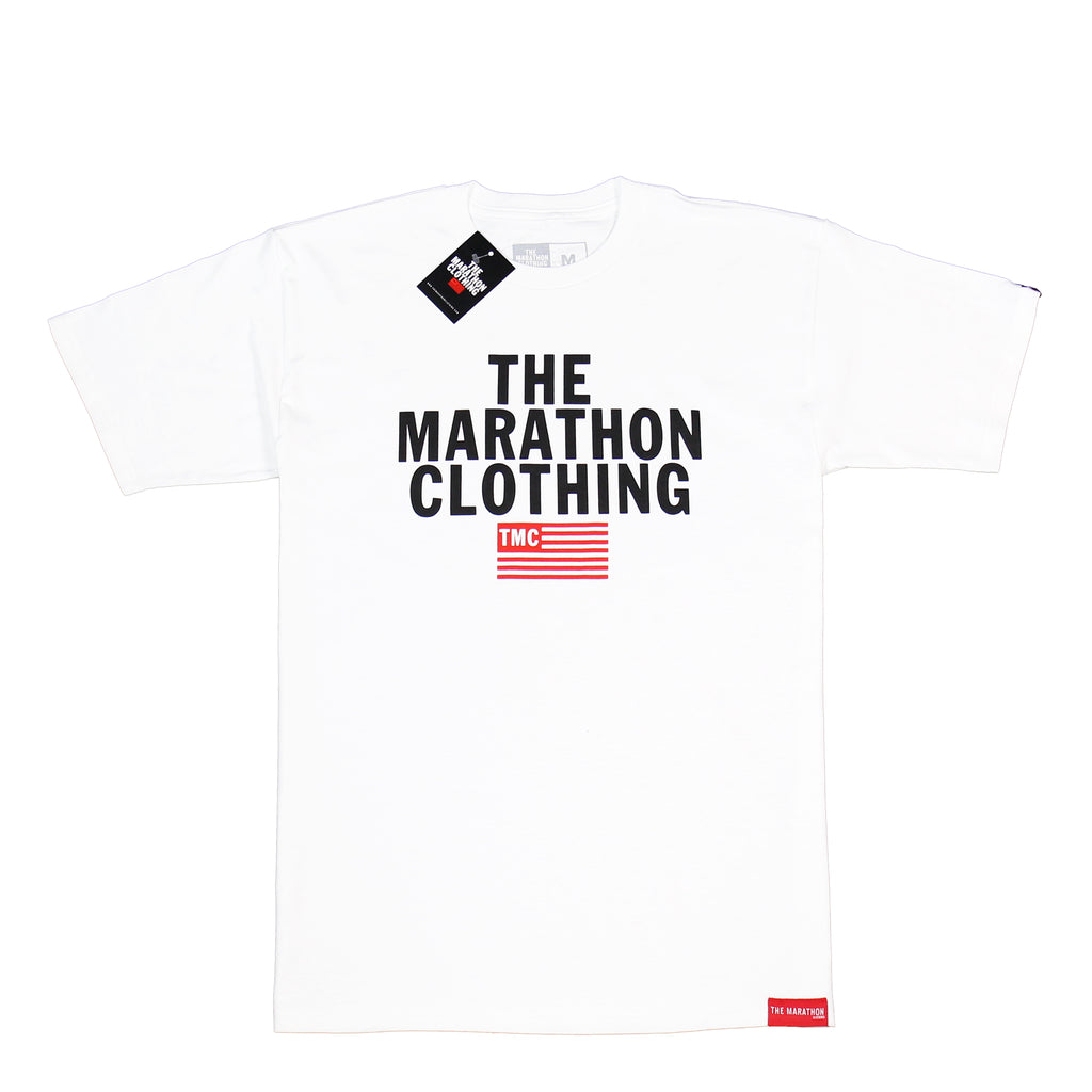 TMC Stacked Logo T-Shirt - White