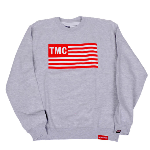 TMC Flag Sweatshirt - Grey