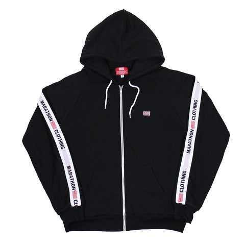TMC Elastic Band Zip Up -  Black/White