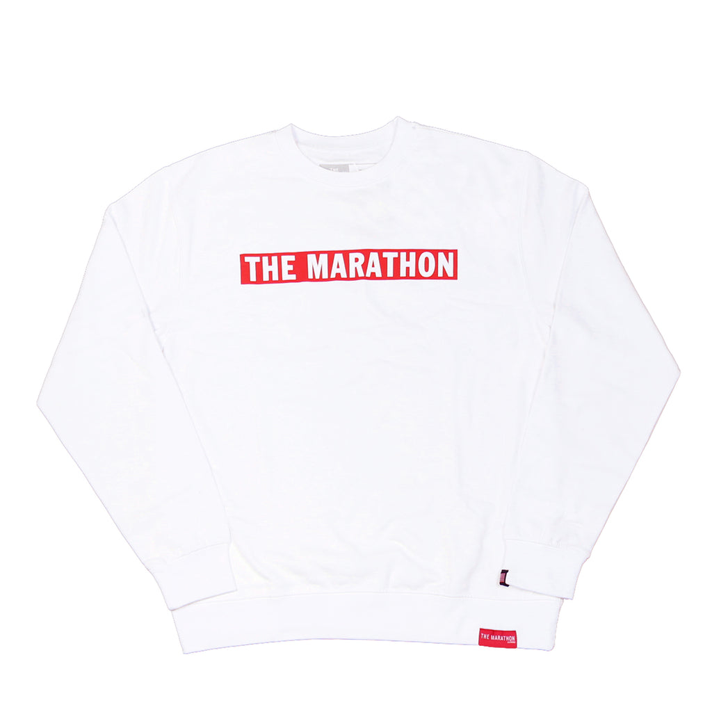 TMC Bar Sweatshirt - White