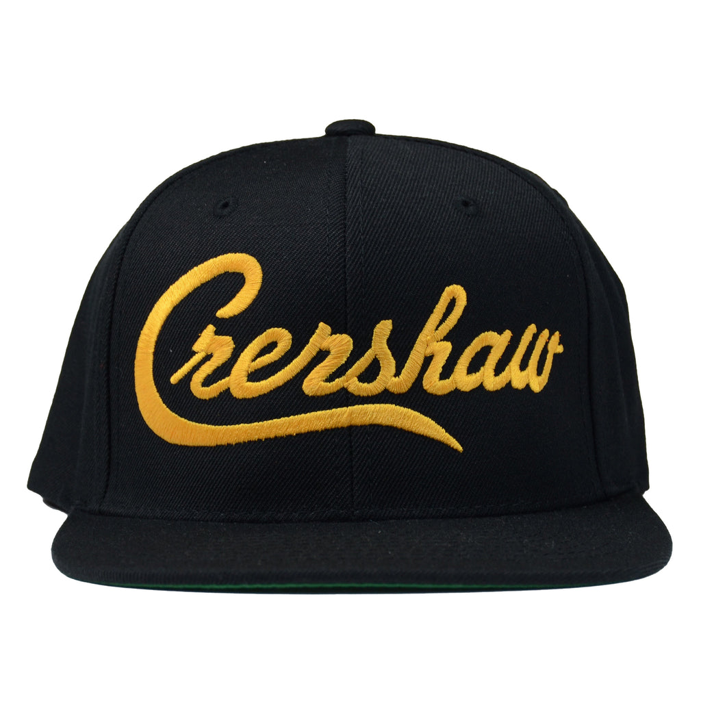 Crenshaw Snapback - Black/Yellow