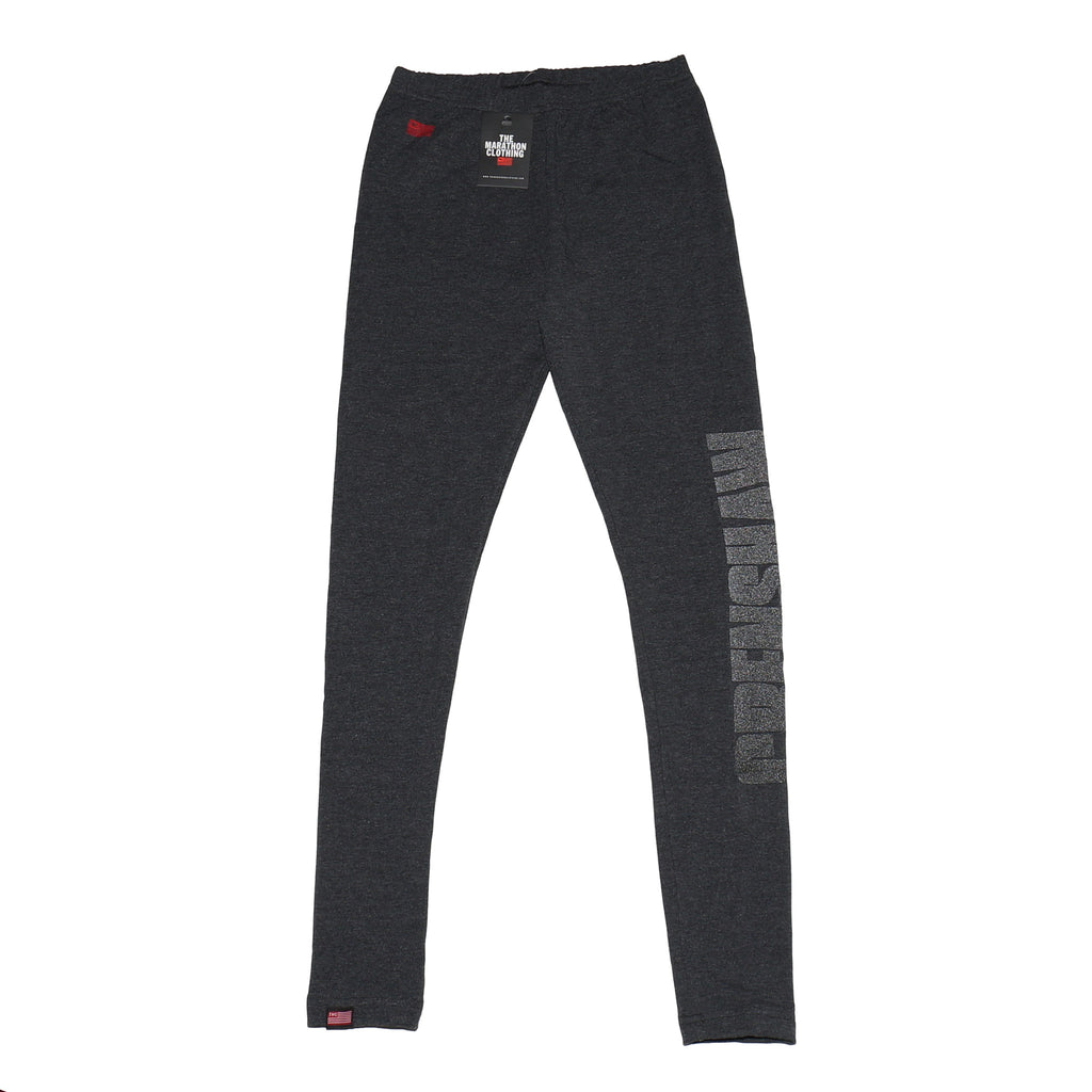 Crenshaw Leggings - Charcoal/3M