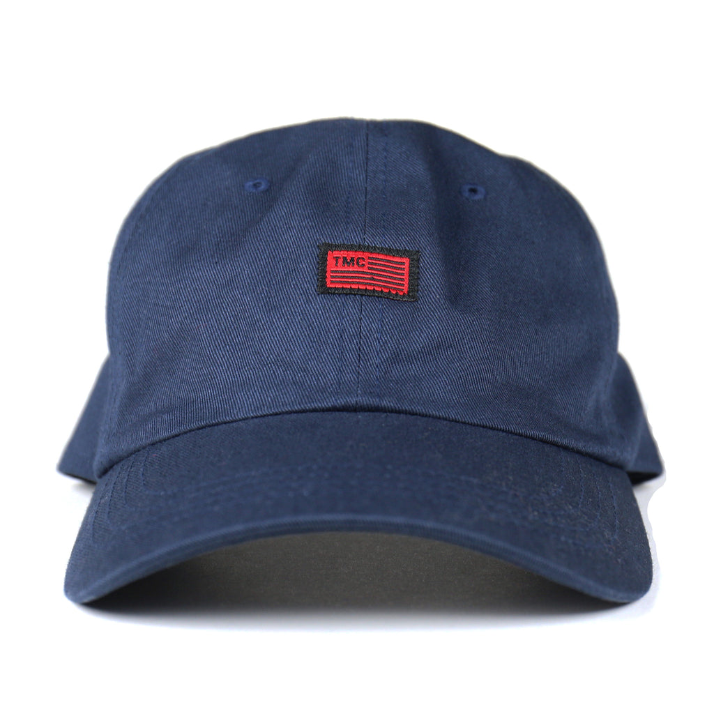 TMC Flag Dad Hat - Navy/Black