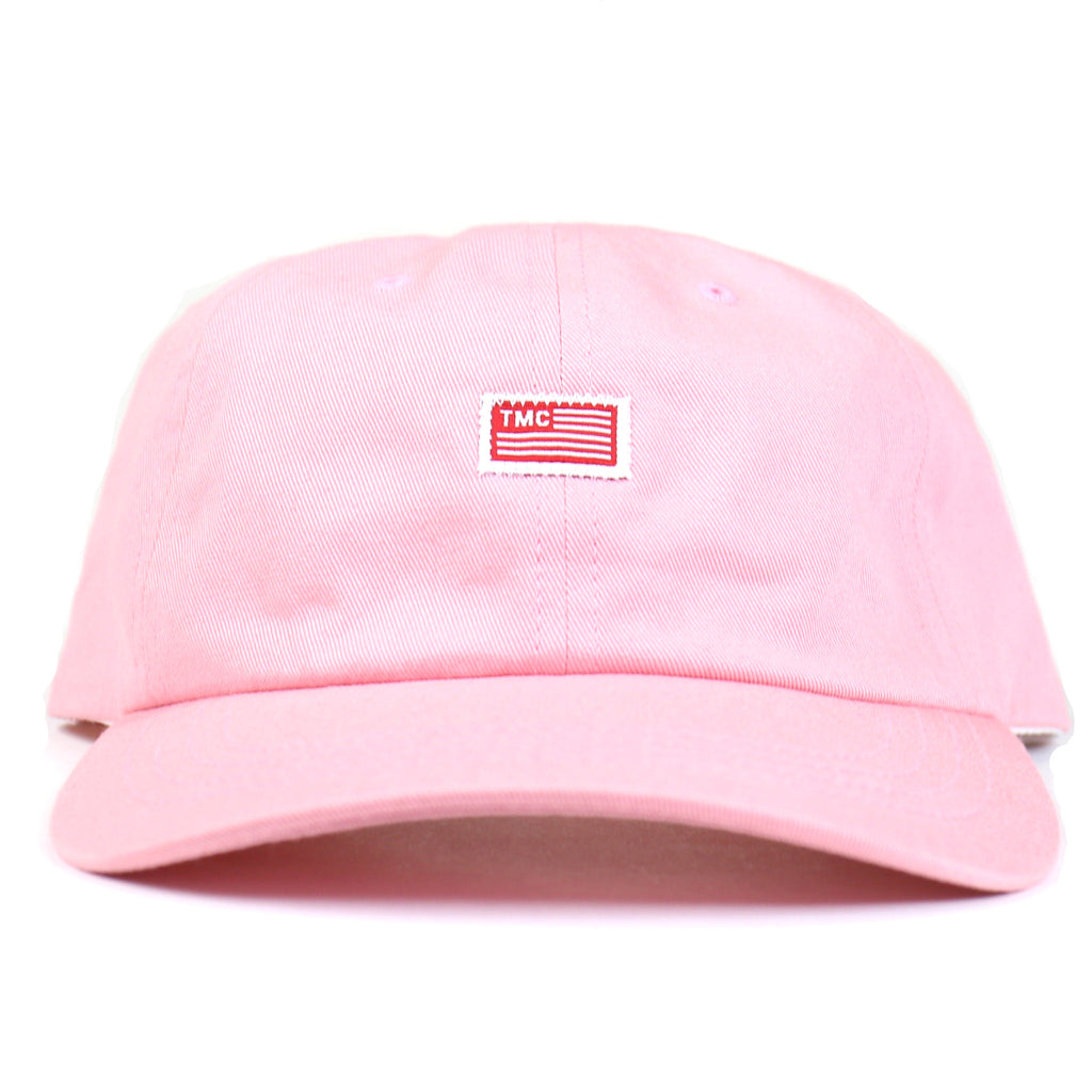 TMC Flag Dad Hat - Pink