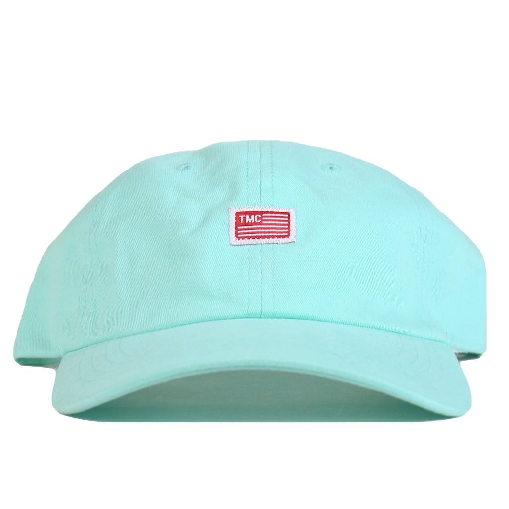 TMC Flag Dad Hat - Aqua