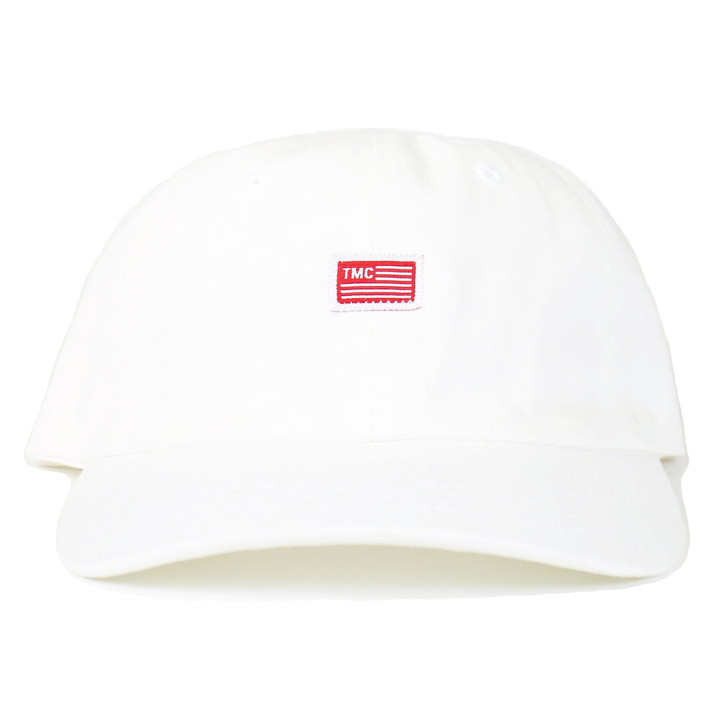 TMC Flag Dad Hat - White
