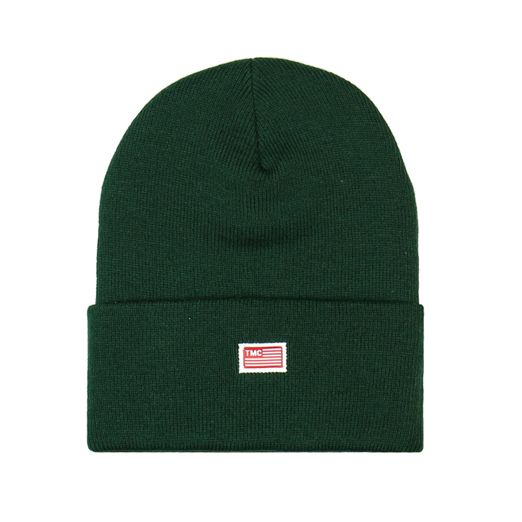 TMC Flag Beanie - Hunter Green