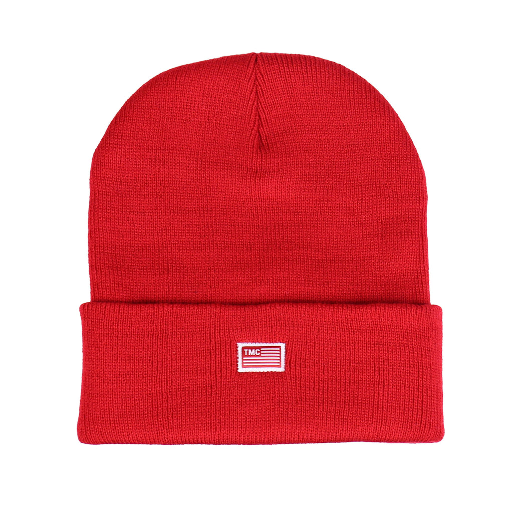 TMC Flag Beanie - Red