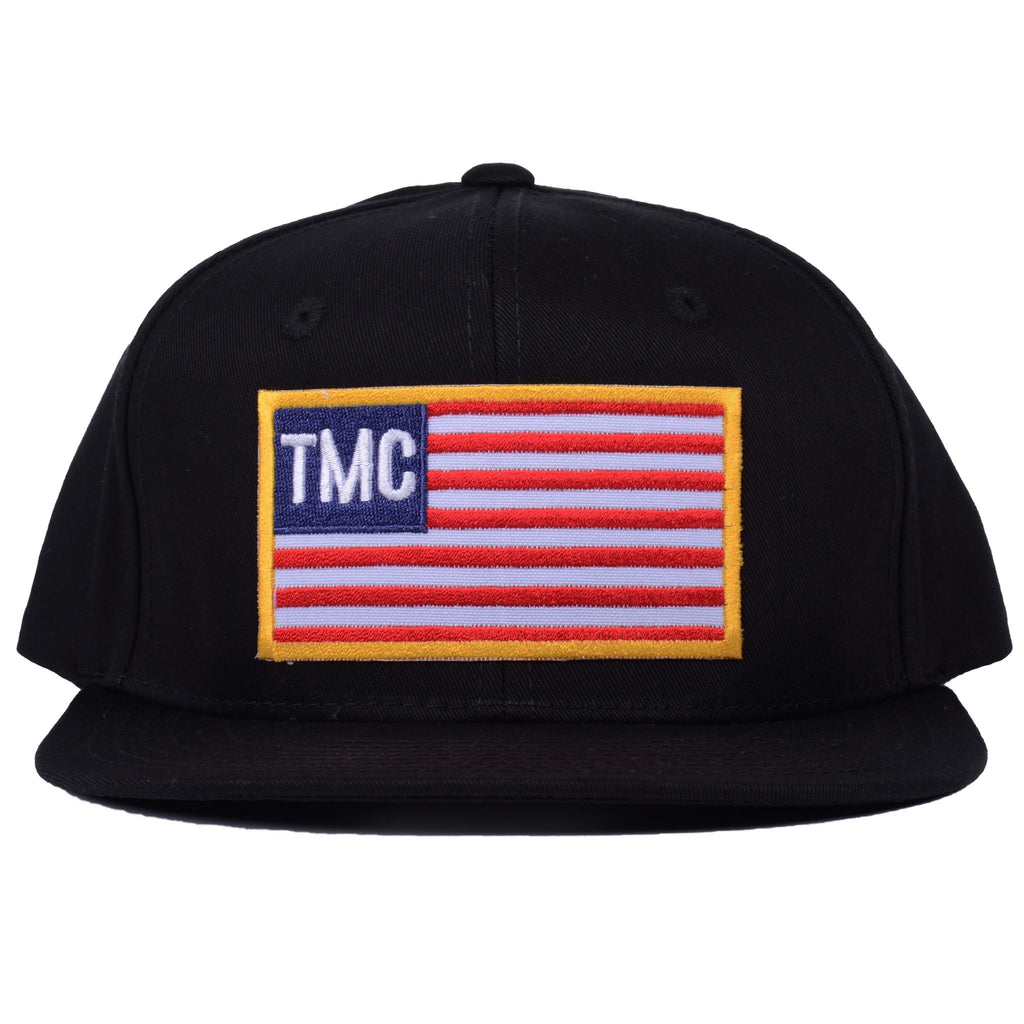 TMC Flag Snapback [Black]