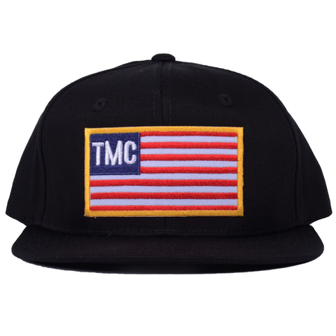 TMC Patch Flag Snapback [Black]