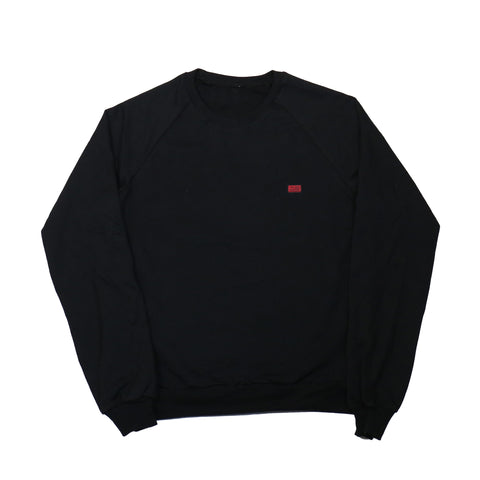 TMC Embroidered Flag Crewneck - Black