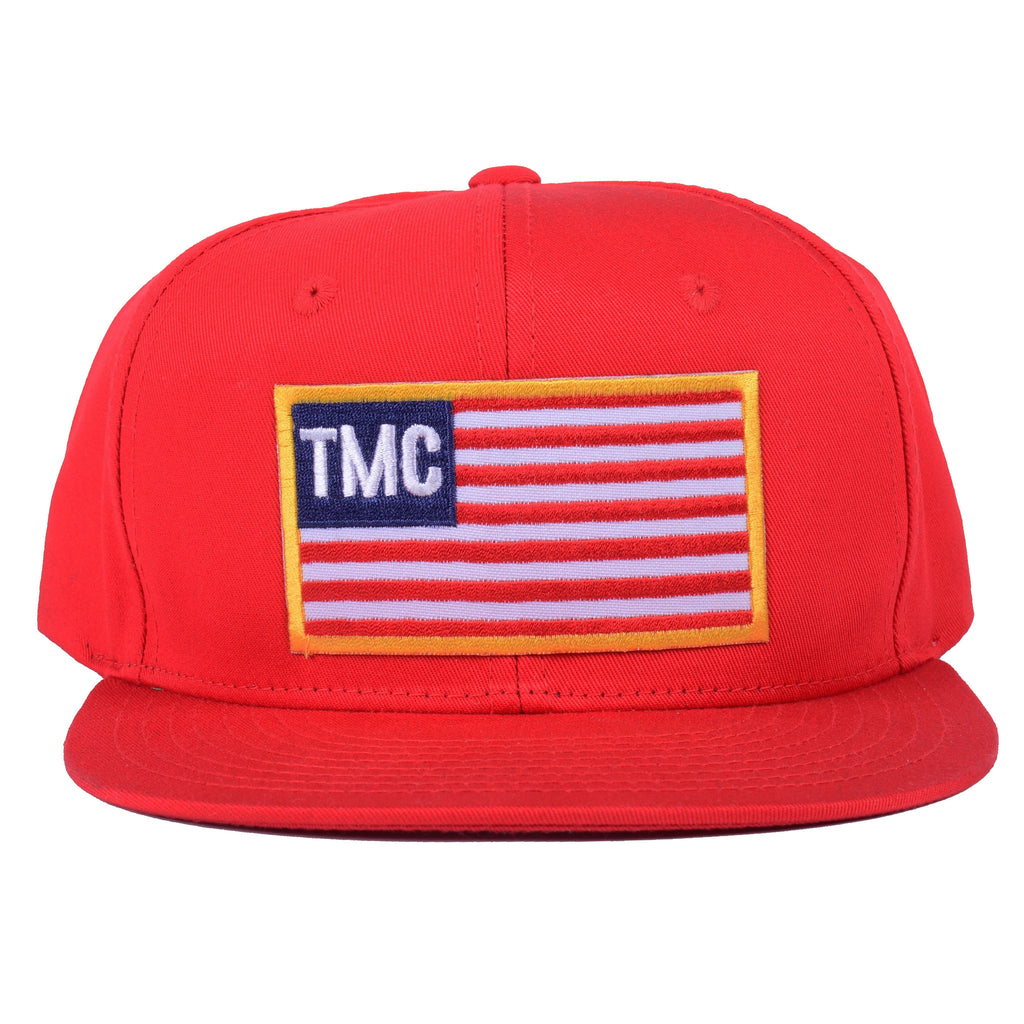 TMC Patch Flag Snapback [Red]