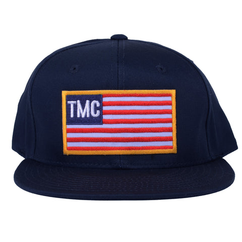 TMC Patch Flag Snapback [Navy]