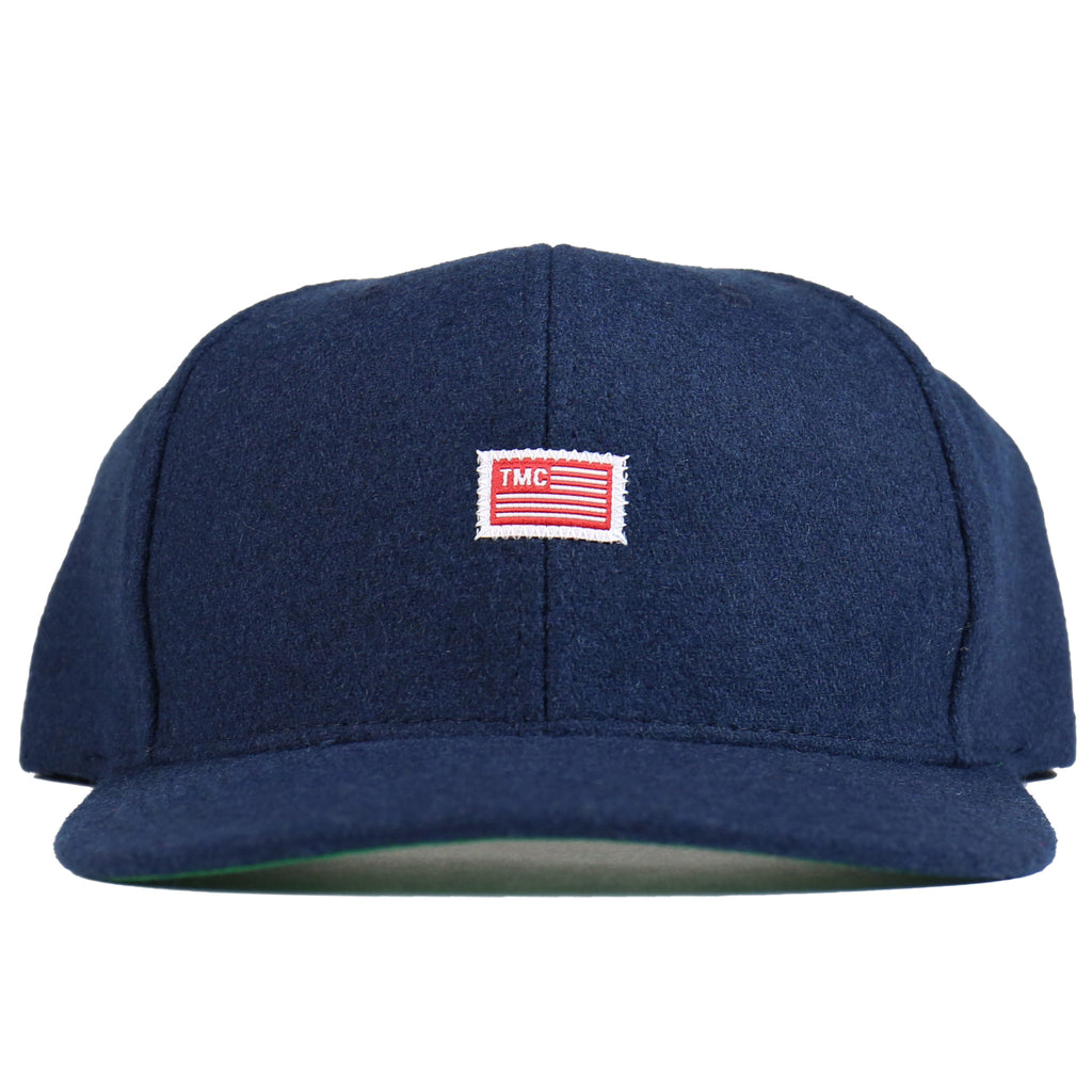 TMC Flag Snapback - Navy Wool