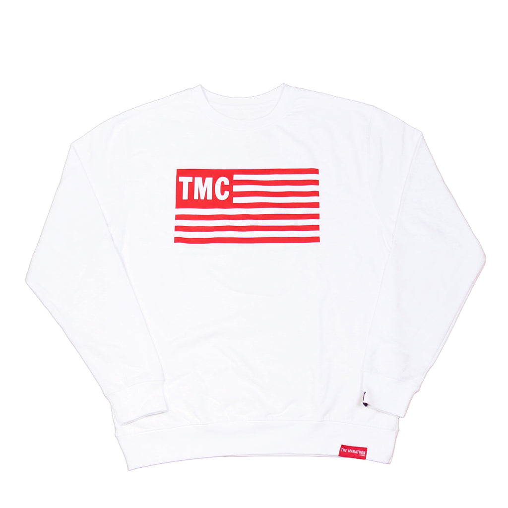 TMC Flag Sweatshirt - White
