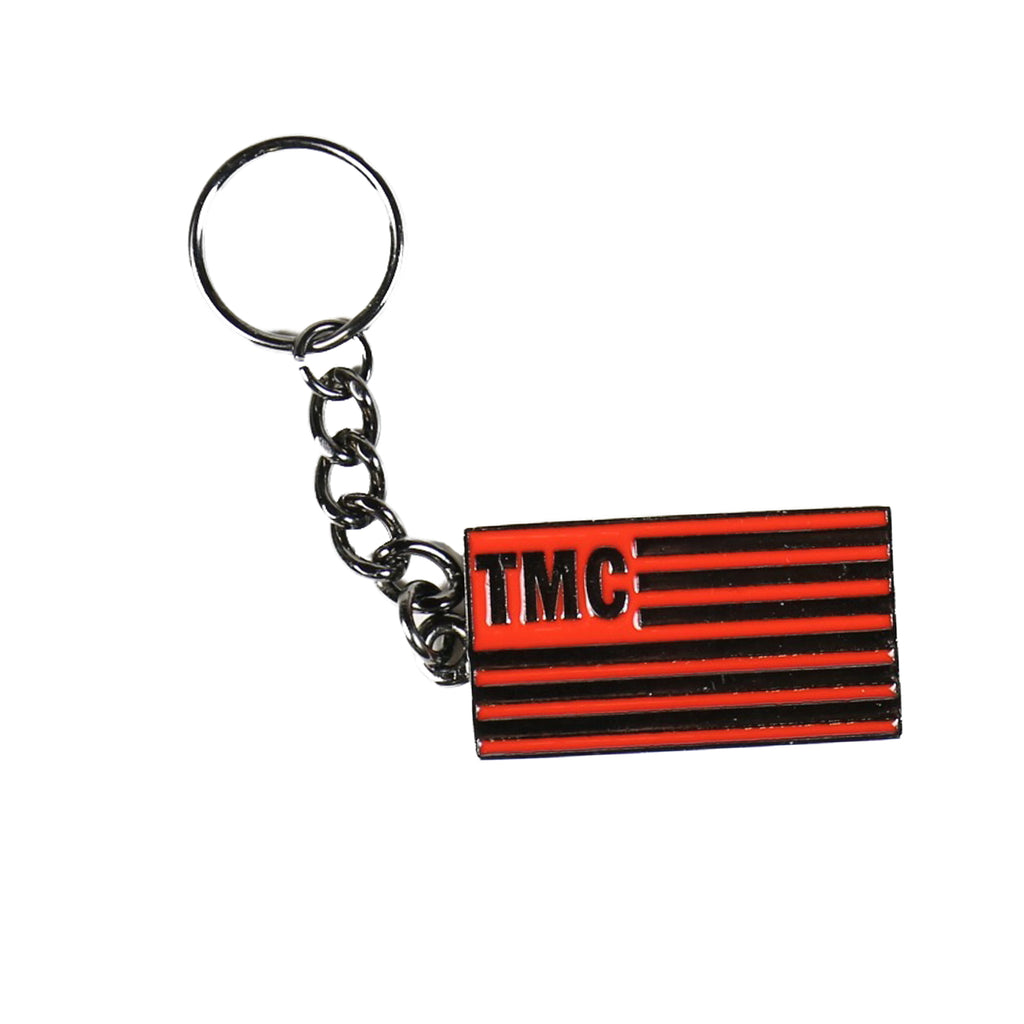 TMC Flag Keychain [Black/Red]