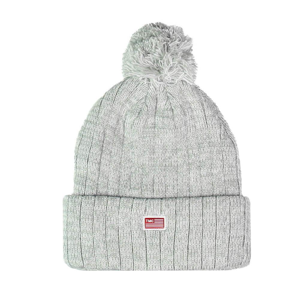 TMC Pom Beanie - Heather
