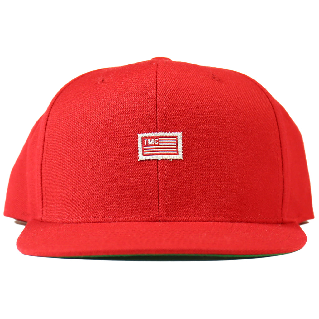 TMC Flag Snapback - Red