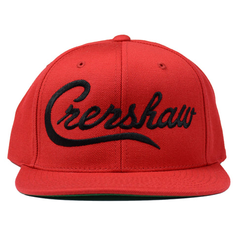 Crenshaw Snapback - Red/Black