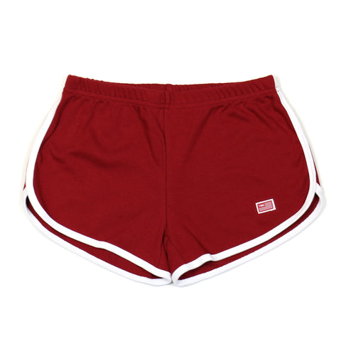 TMC Shorts - Maroon/White
