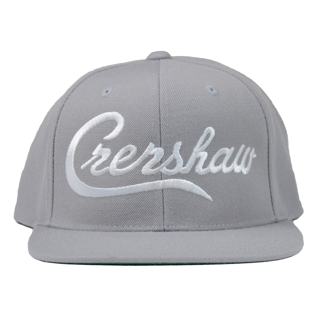Crenshaw Snapback - Heather/White