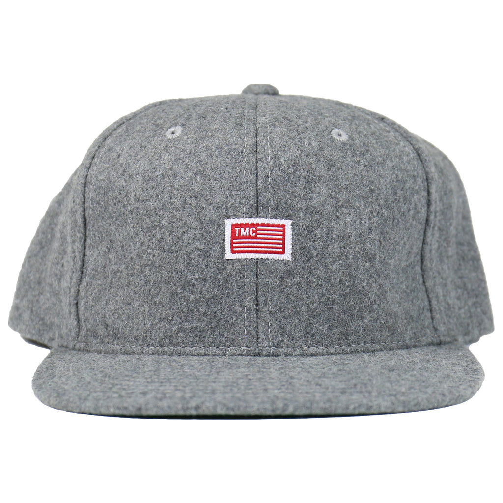 TMC Flag Snapback - Wool Gray