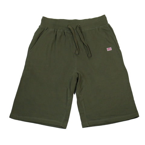 TMC Flag Sweat Shorts - Olive