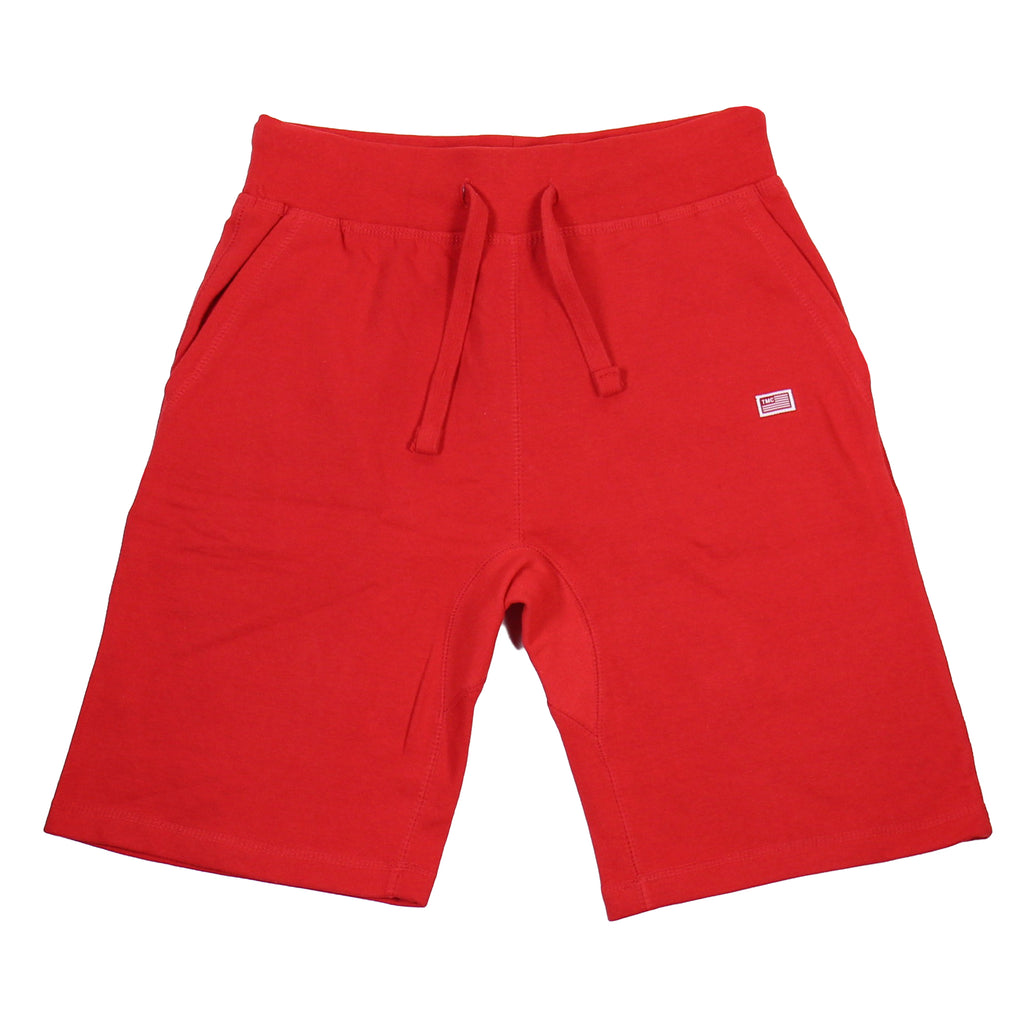 TMC Flag Sweat Shorts - Red