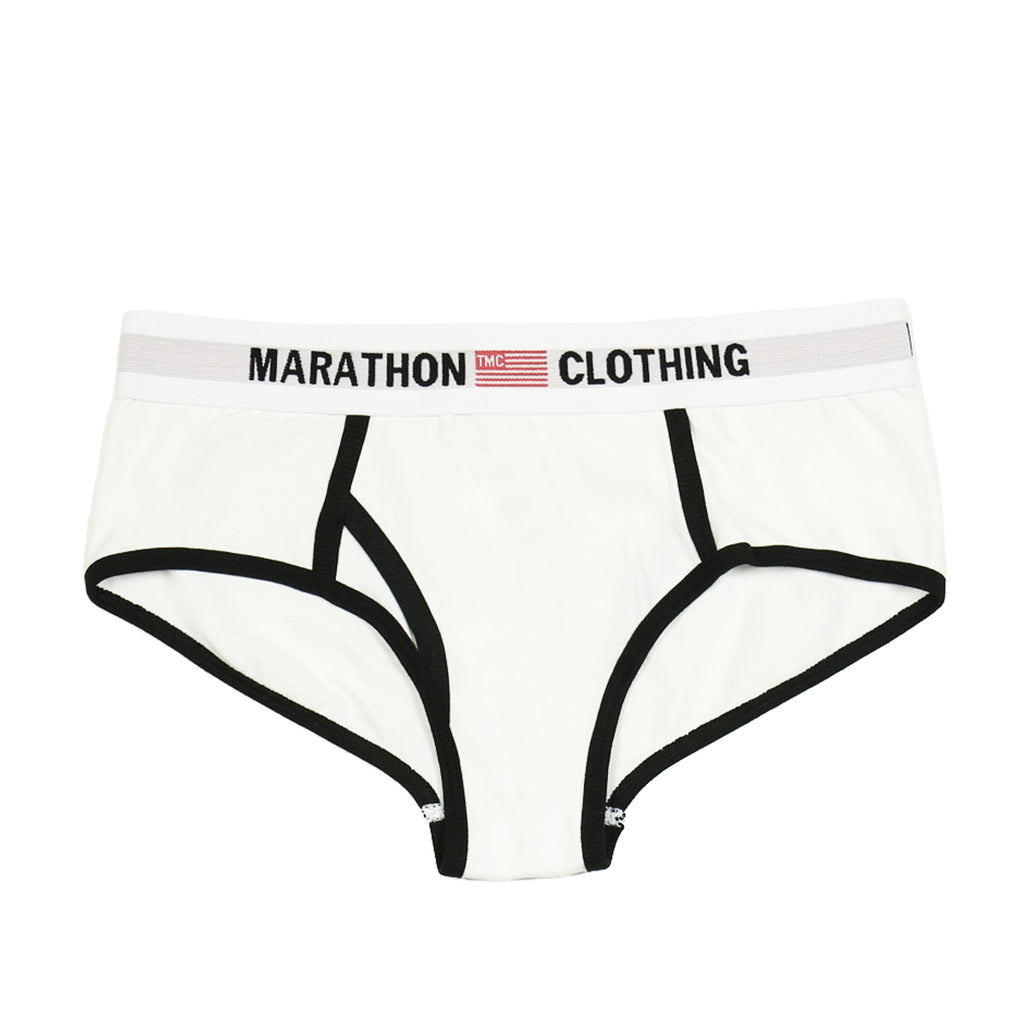 TMC Elastic Band Underwear - White/Black