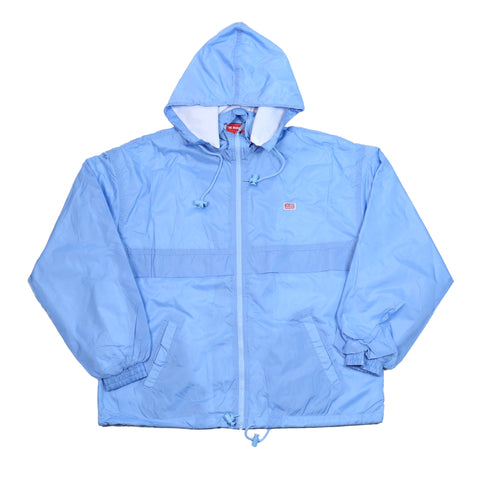 TMC Flag Windbreaker Zip Up - Powder Blue
