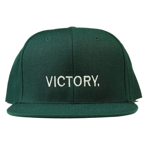 Victory Snapback - Green/White