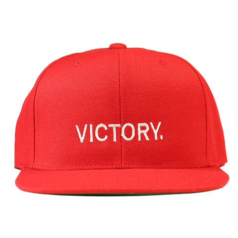 Victory Snapback - Red/White