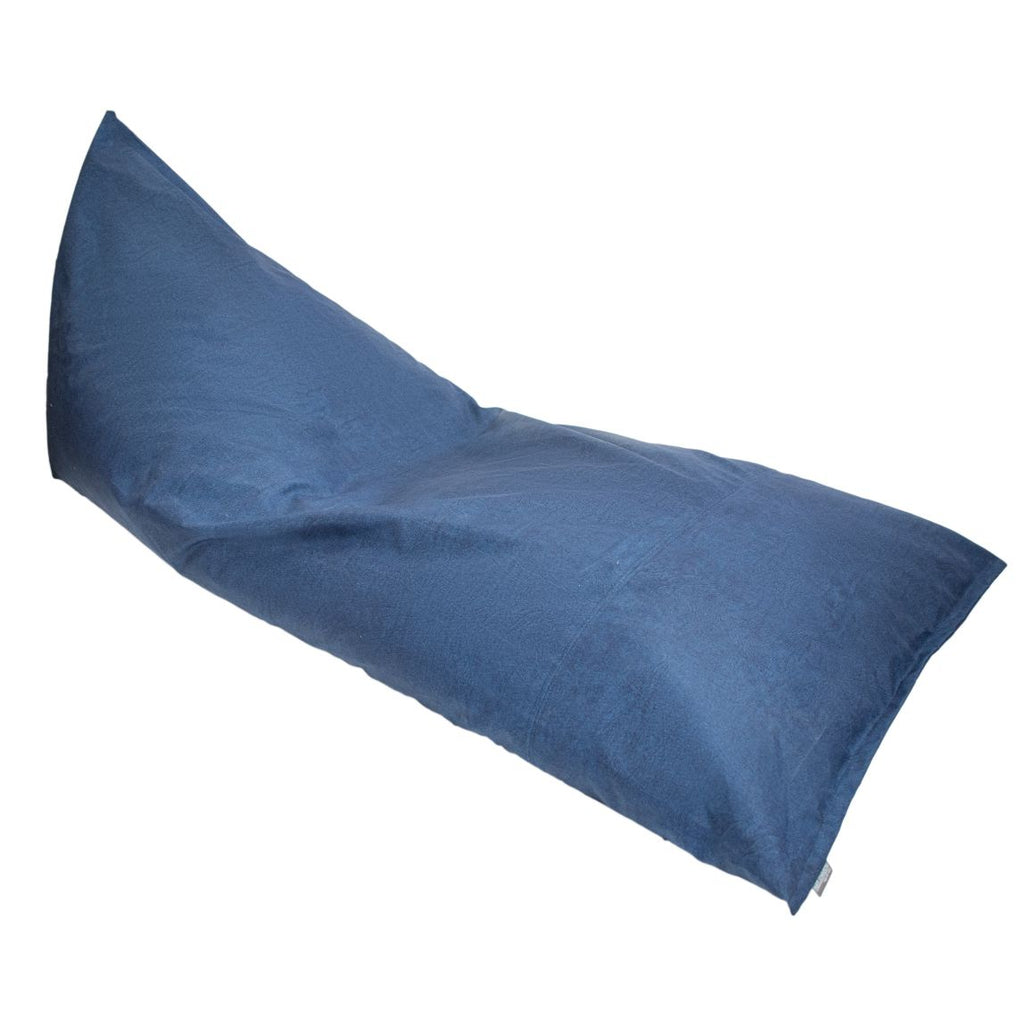 Pouf Impermeable Triangular Azul