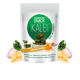 Kale Crisps - Cheese & Onion (30gm) (Up to 15% OFF on Pack of 3)
