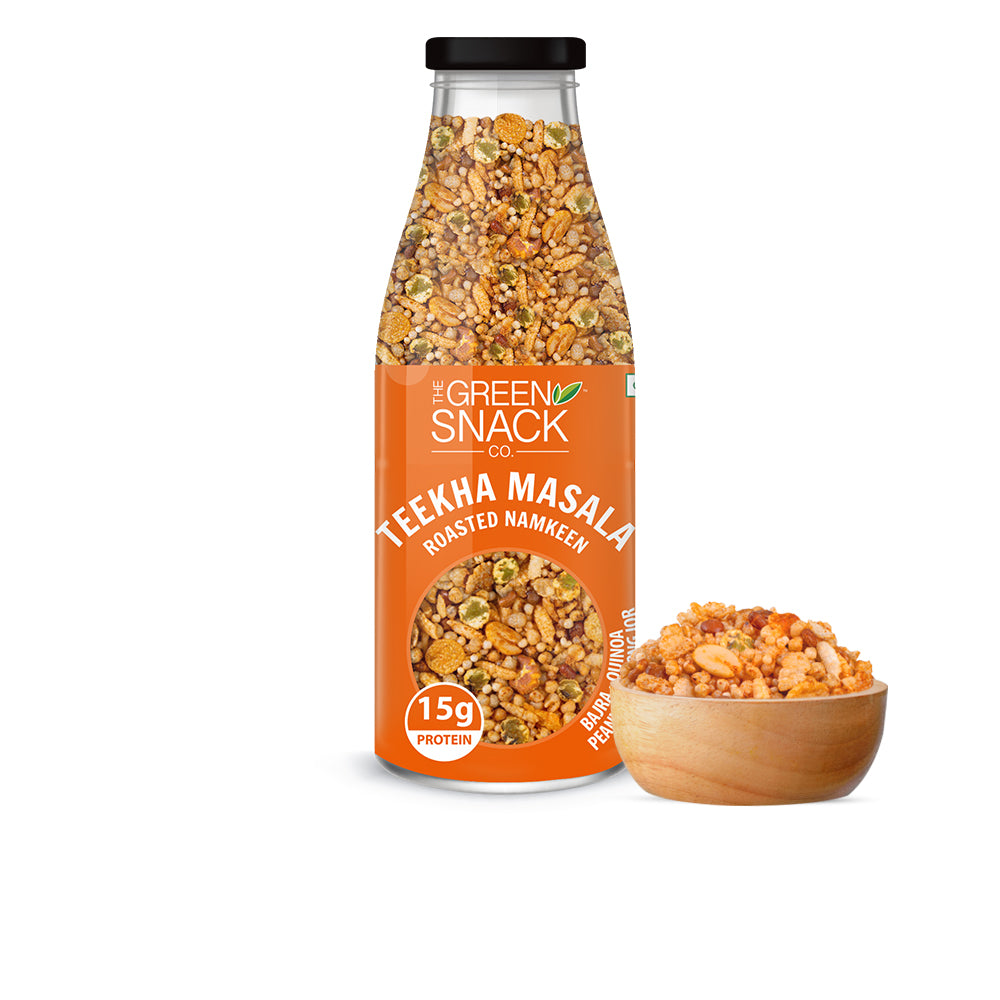 Roasted Namkeen - Teekha Masala (100gm) (Up to 15% OFF on Pack of 6)