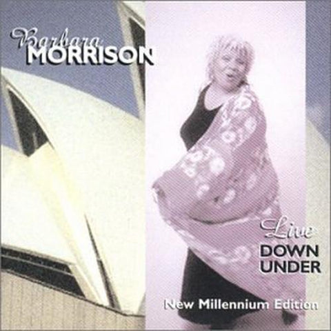 Barbara Morrison - Live Down Under - T25CL