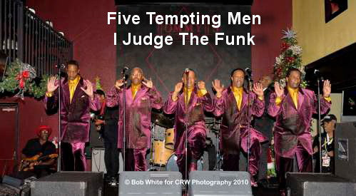 Five Tempting Men - I Judge The Funk - T25CL