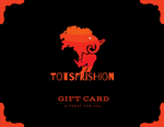 ToTsFrishion Gift Card