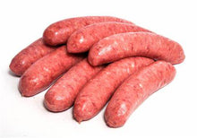 Load image into Gallery viewer, *Lamb Rosemary & Honey - Thick Sausages (Pack of 6) - $16/kg.