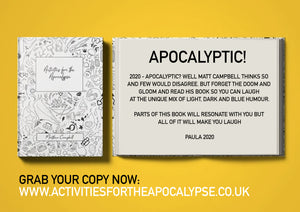 Activities For The Apocalypse Paperback