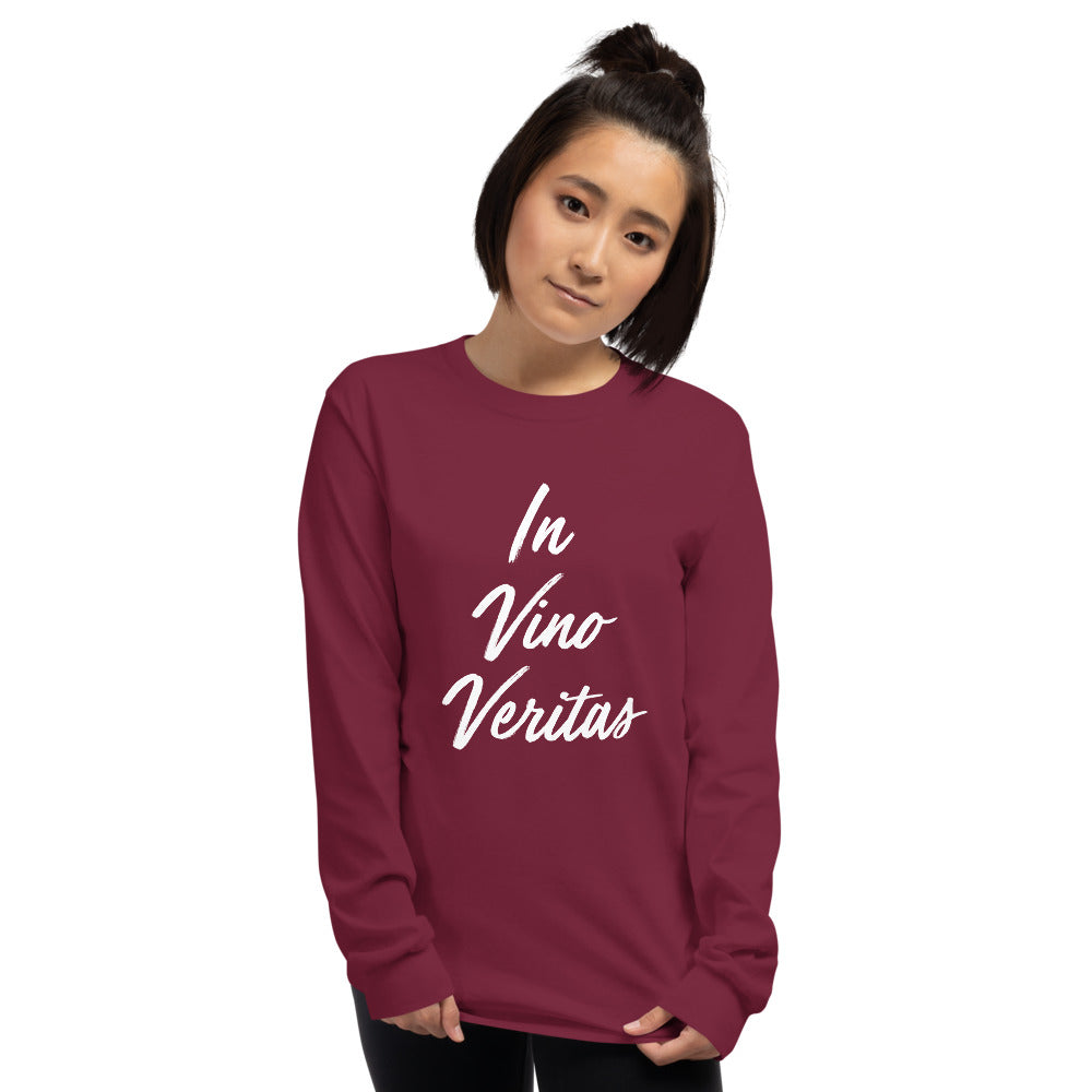 In Wine There Is Truth Long Sleeve Shirt