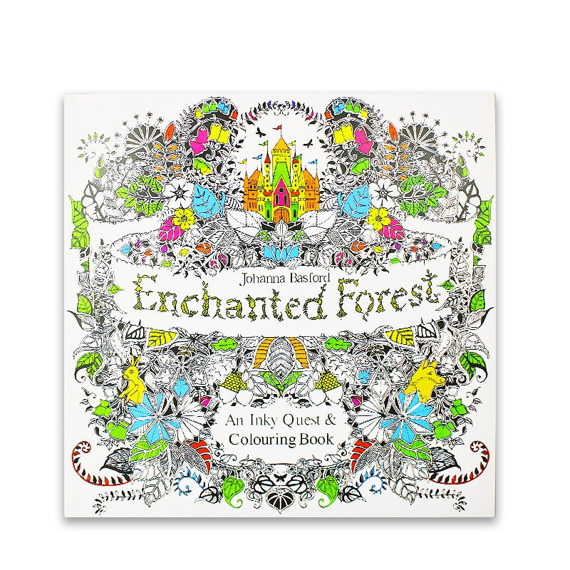Enchanted Forest Coloring Books for Adults