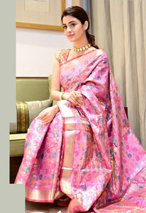 ZARI WOVEN BEAUTIFUL SOUTH SILK SAREE